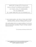 Livre 1 – Deroulement de l'enquête-analyse du projet-observations